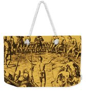 Native Amercian Medicine Weekender Tote Bag by Science Source