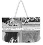 Native American Courtship Weekender Tote Bag