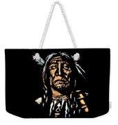 Native American Elder Weekender Tote Bag