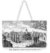 Native American Punishment Weekender Tote Bag