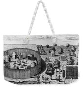 Native American Village Weekender Tote Bag