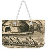 Native Americans Transporting Crops Weekender Tote Bag