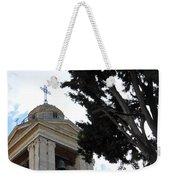 Nativity Church Tree Weekender Tote Bag