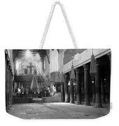 Nativity Pillars Weekender Tote Bag