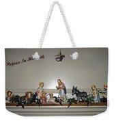 Nativity Set Weekender Tote Bag