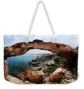 Natural Bridge - Cape Gkreko - Cyprus Weekender Tote Bag