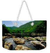Natural Pangaea  Weekender Tote Bag by Lj Lambert