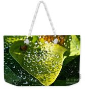 Natural Rhinestones Weekender Tote Bag