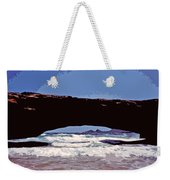 Natural Stone Bridge - Aruba Weekender Tote Bag