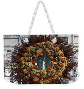 Natural Wreath Weekender Tote Bag