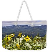 Nature Dance Weekender Tote Bag by Janie Johnson