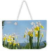 Nature Photography Irises Art Prints Weekender Tote Bag