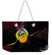 Nature's Amazing Colors - Pansy Weekender Tote Bag