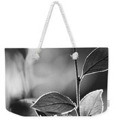 Natures Back Light Weekender Tote Bag