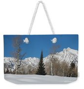 Nature's Christmas Tree Weekender Tote Bag