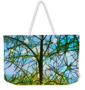 Nature's Church Windows  Weekender Tote Bag