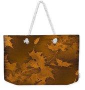Natures Gold Leaf Weekender Tote Bag