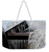 Natures Ice Sculptures 5 Weekender Tote Bag