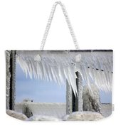 Natures Ice Sculptures1 Weekender Tote Bag