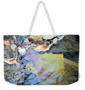 Nature's Leaf Collage Weekender Tote Bag