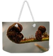 Nature's Red Carpet Unfurling Weekender Tote Bag