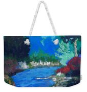 Natures Red White And Blue Weekender Tote Bag