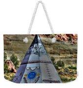 Navajo Trading Post Teepee Weekender Tote Bag