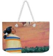Navajo Woman Weekender Tote Bag