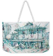 Navigli City Of Milan In Italy Portrait Weekender Tote Bag