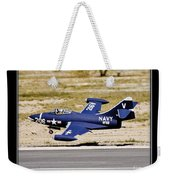 Navy Landing Weekender Tote Bag
