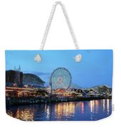 Navy Pier Chicago Digital Art Weekender Tote Bag