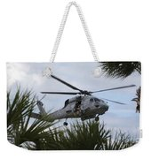 Navy Seals Look Out The Helicopter Door Weekender Tote Bag