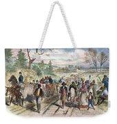 Nc: Freed Slaves, 1863 Weekender Tote Bag