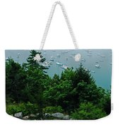Ne Harbor Maine Seen From Thuya Gardens Mt Desert Island  Weekender Tote Bag