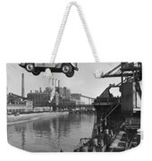 Near London.  The Ford Motor Plant Weekender Tote Bag