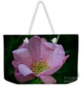Nearly Spent Rose Weekender Tote Bag