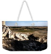 Nebraska Plains Weekender Tote Bag