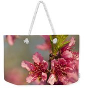Nectarine Blossoms Weekender Tote Bag