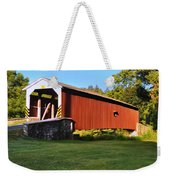 Neff's Mill Covered Bridge In Lancaster County Pa. Weekender Tote Bag