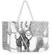 Negro Porter, 19th Century Weekender Tote Bag