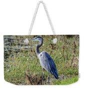 Neighborhood Heron Weekender Tote Bag