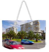 Neighborhood Unrest Weekender Tote Bag