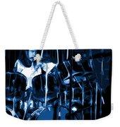 Blue Drums Weekender Tote Bag
