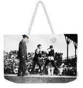 Nelson Vs. Hurley, 1902 Weekender Tote Bag