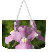 Nemesia Named Compact Pink Innocence Weekender Tote Bag