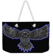 Neon Owl Weekender Tote Bag