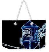 Neon Water Tower Weekender Tote Bag