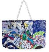 Neptune Rides The Sea Weekender Tote Bag