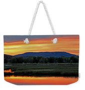 Nerepis Marsh At Dusk IIi Weekender Tote Bag
