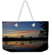 Nerepis Marsh Sunset Weekender Tote Bag